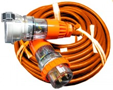 3 Phase 32amp 25m Extension Lead