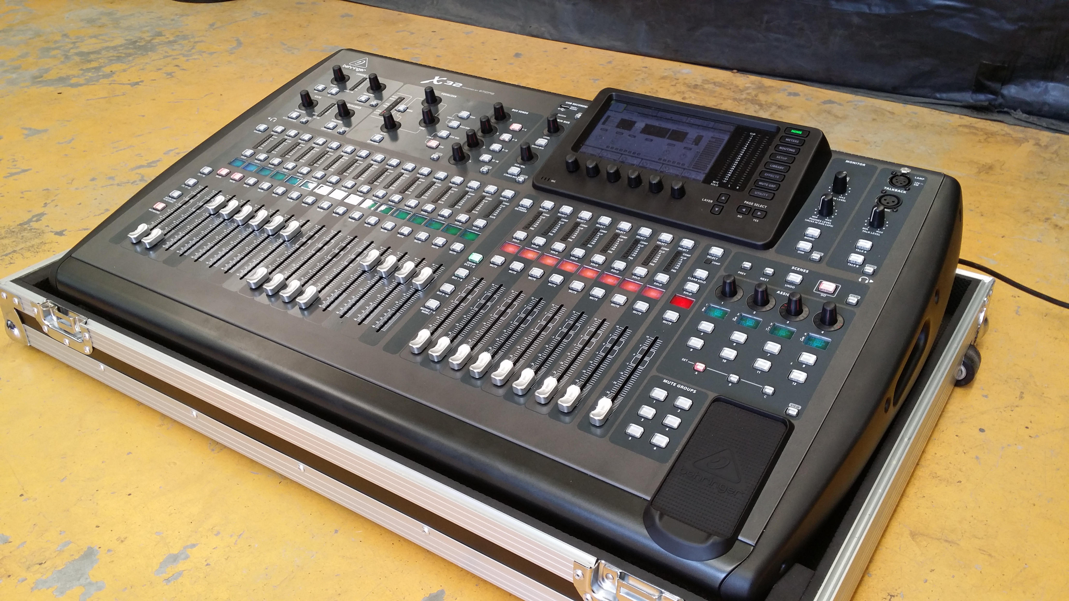 X32 Digital Mixing Console Dc Productions