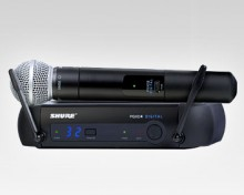 Shure Wireless PGX-D SM58